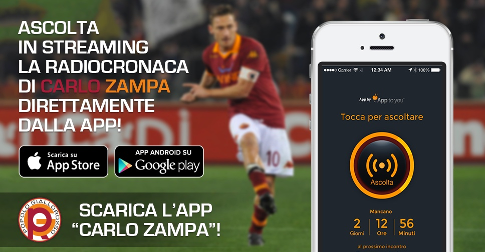 App to you Carlo Zampa App iOS Android